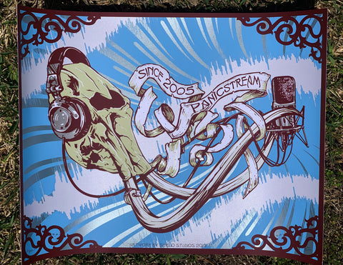 On Sale: PanicStream 14th Anniversary Print
