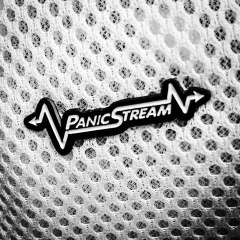 PanicStream Hat Pin