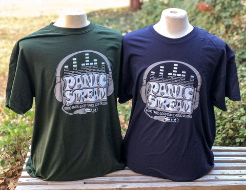 PanicStream Retro Short Sleeve T-Shirt