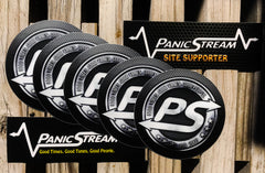PS Speaker Grill Sticker