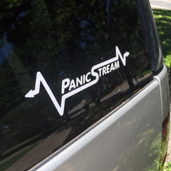 PanicStream Die Cut Stickers