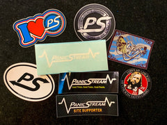 PanicStream Sticker Combo Pack