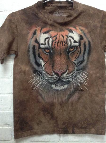 The Mountain Jeremy Paul Tiger Tee Kids Size M Medium 8-10