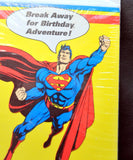 Vintage Superman Birthday Party Invitations -8