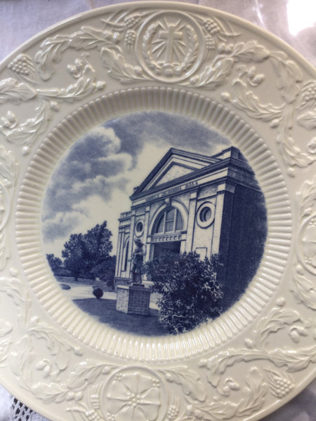 Duke University Wedgwood Plate Craven Memorial