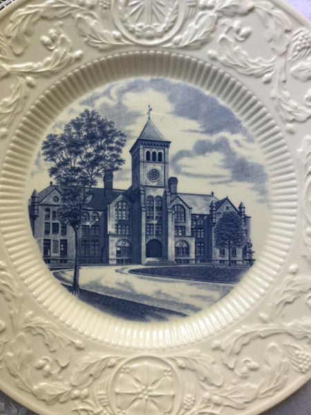 Duke University Alumni Wedgwood Plates Washington Duke Building