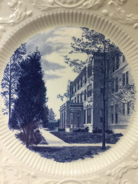 Duke University Blue Wedgwood Southgate Building 1921