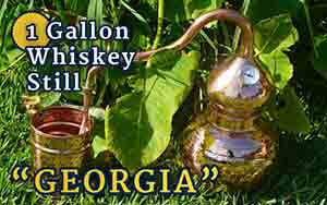 "1-Gallon Whiskey Still ""Georgia"""