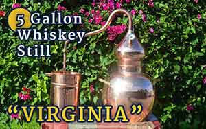 "5-Gallon Moonshine Still ""Virginia"""
