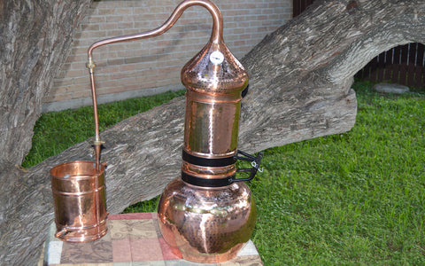 "5-Gallon Flip Top Column Whiskey Still ""Maryland"""