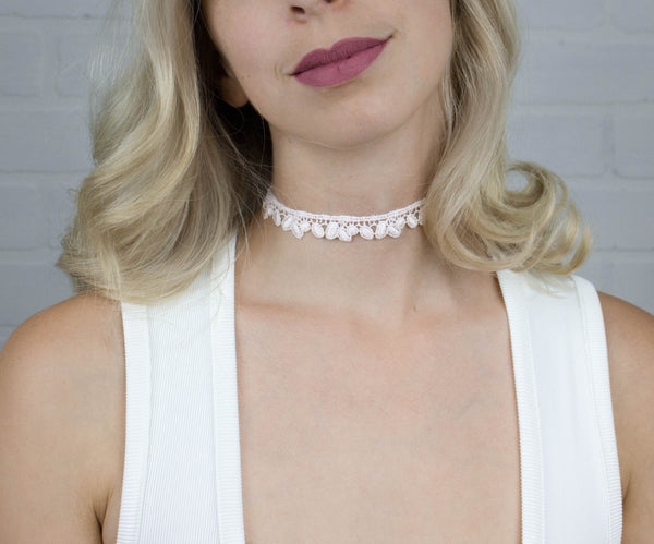 Lily of the Valley Choker