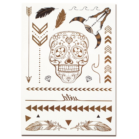 Salty Gypsy - Metallic Temporary Tattoos
