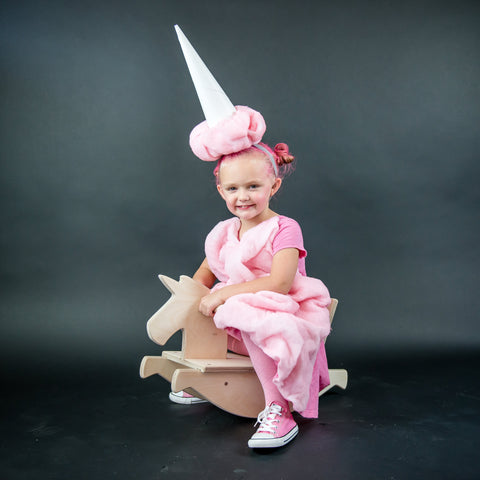 cotton candy - rocking horse - halloween
