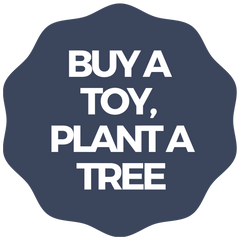 Give back by planting a tree for every toy purchased.