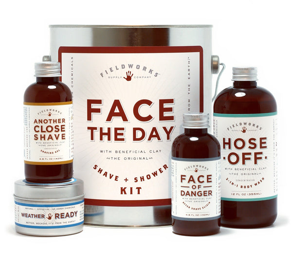 Face the Day paint can gift set