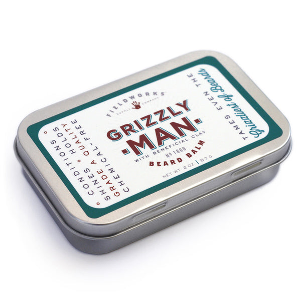 Grizzly Man Beard Conditioning Balm