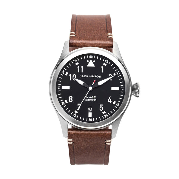 Aviator 3-Hand Watch