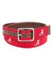Alabama Crimson Tide Alumni Reversible Belt - Jack Mason- The Ole Bull Co.