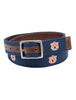 Auburn Tigers Alumni Reversible Belt - Jack Mason- The Ole Bull Co.