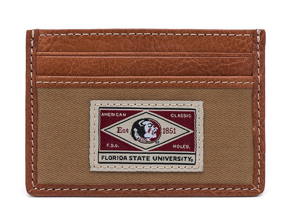 Florida State Vault Slim Card Case