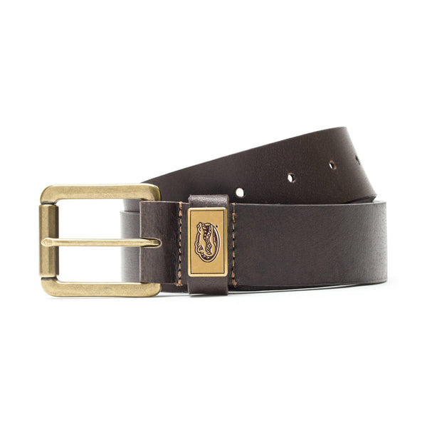 Florida Gators Gridiron Leather Belt