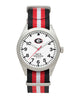 Georgia Bulldogs - Striped NATO Strap Watch - The Ole Bull Co.