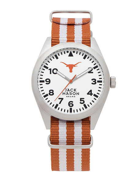 Texas Longhorns - Striped Nato Strap Watch