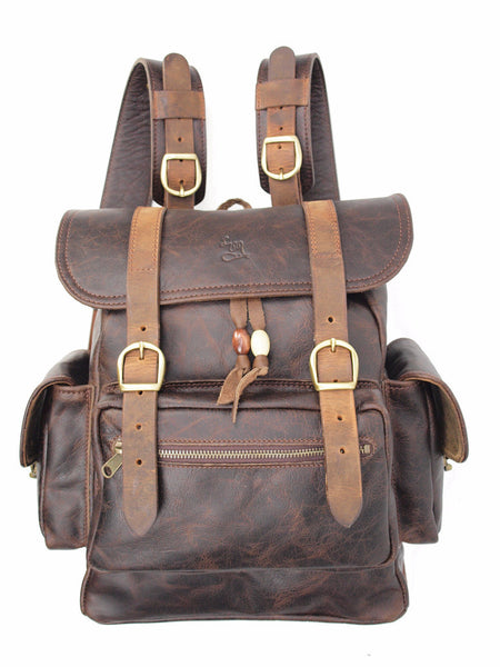 Bridges Backpack - Chocolate