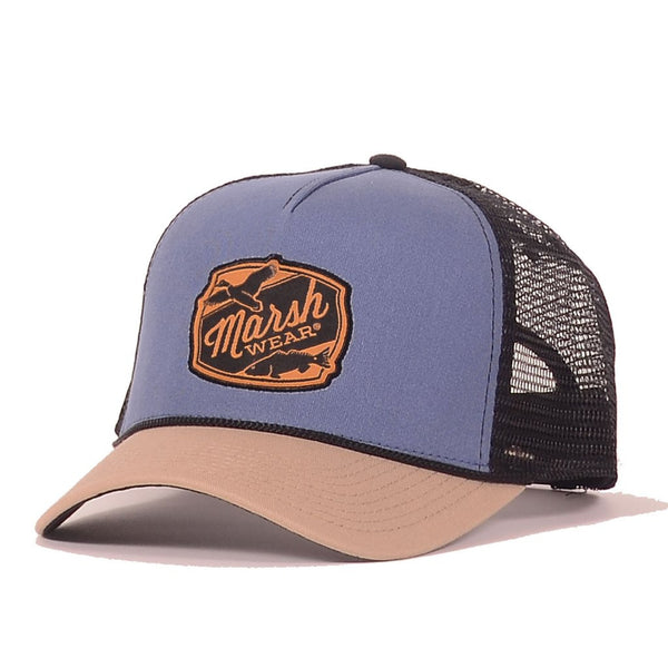 Trout Patch Trucker - Brusnwick Blue