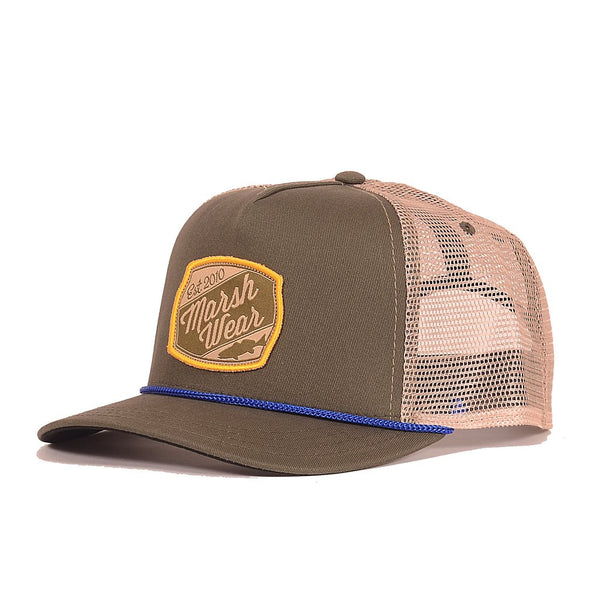Trout Patch 5 Panel Hat - Garris Landing Green