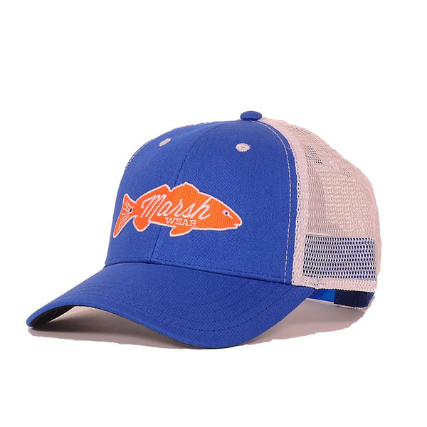 The 'Tailgater' Trucker Hat - Gator Blue