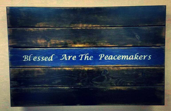 Blessed Are The Peacemakers - Concealment Flag (Hidden Compartment)