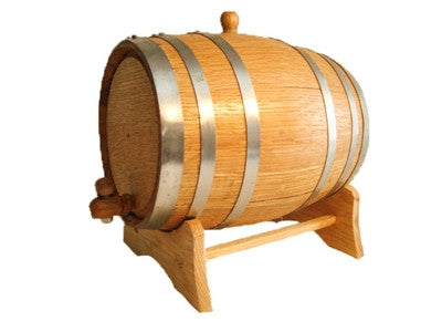 Steel Banded Spirits Barrel