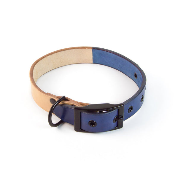 DUOTONE DOG COLLAR (BLUE)