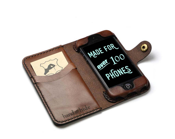 iPhone 5, 5s, 5c Leather Wallet Case, No Plastic