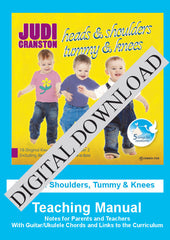 Heads & Shoulders Tummy & Knees: Teaching Manual DIGITAL DOWNLOAD
