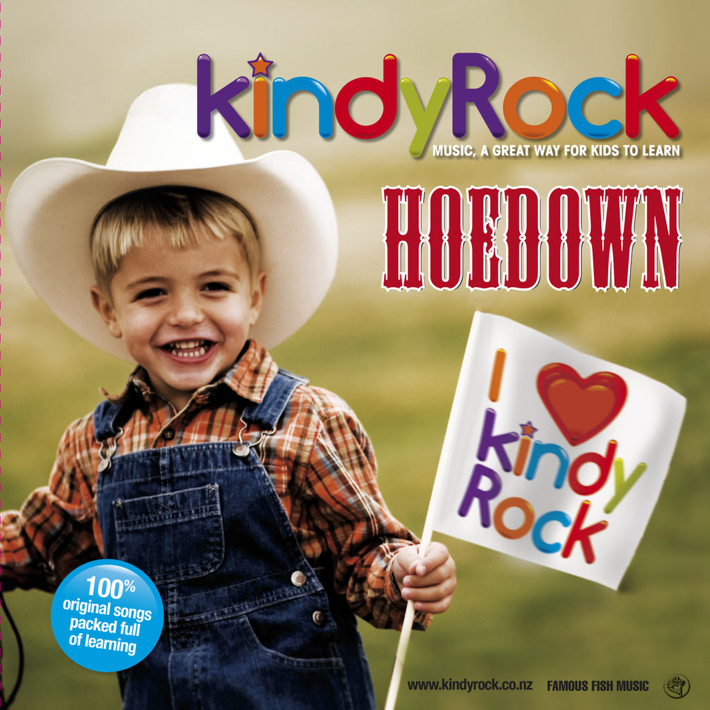 Digital Copy: KindyRock Hoedown CD