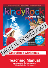 KindyRock Christmas: Teaching Manual DIGITAL DOWNLOAD
