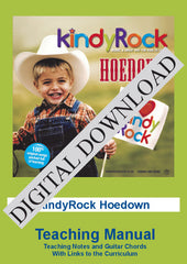 KindyRock Hoedown Teaching Manual DIGITAL DOWNLOAD