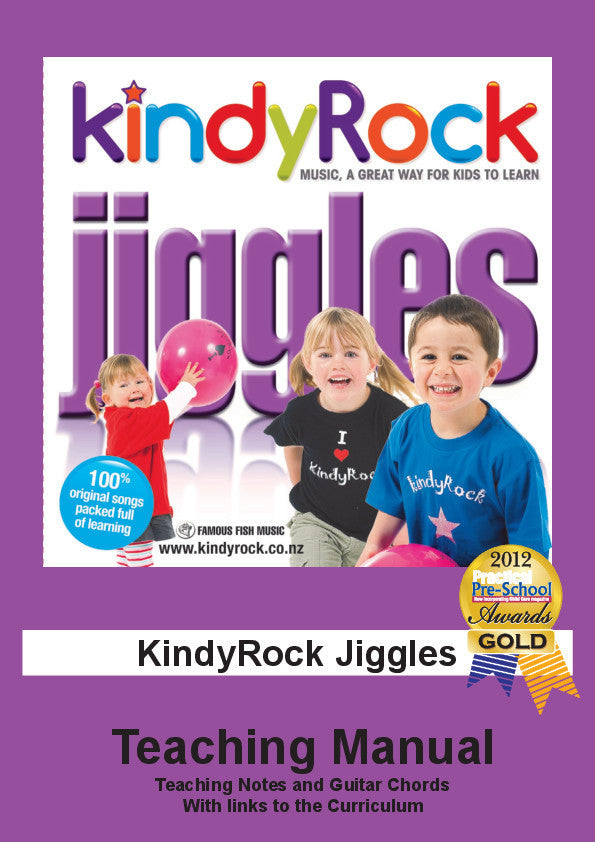 KindyRock Jiggles Teaching Manual