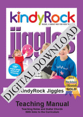 KindyRock Jiggles Teaching Manual DIGITAL DOWNLOAD