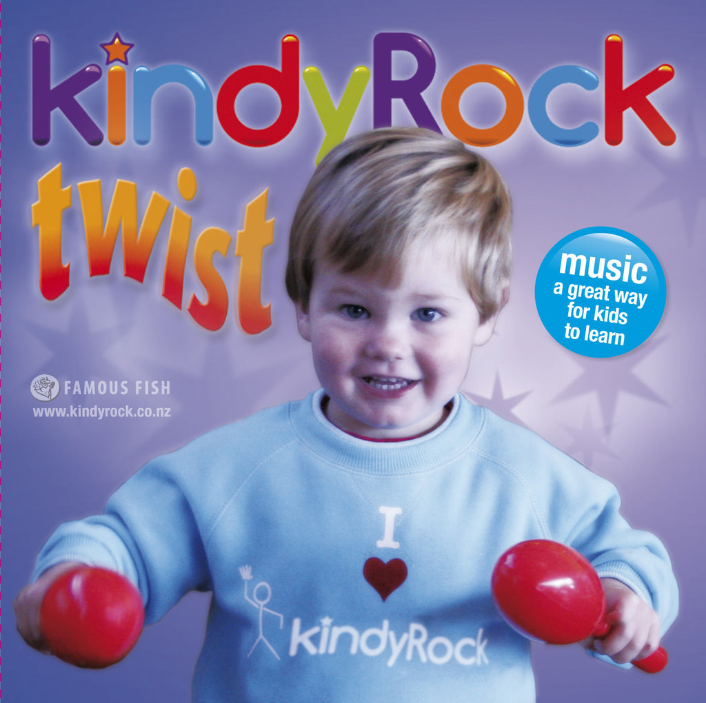Digital Copy: KindyRock Twist CD