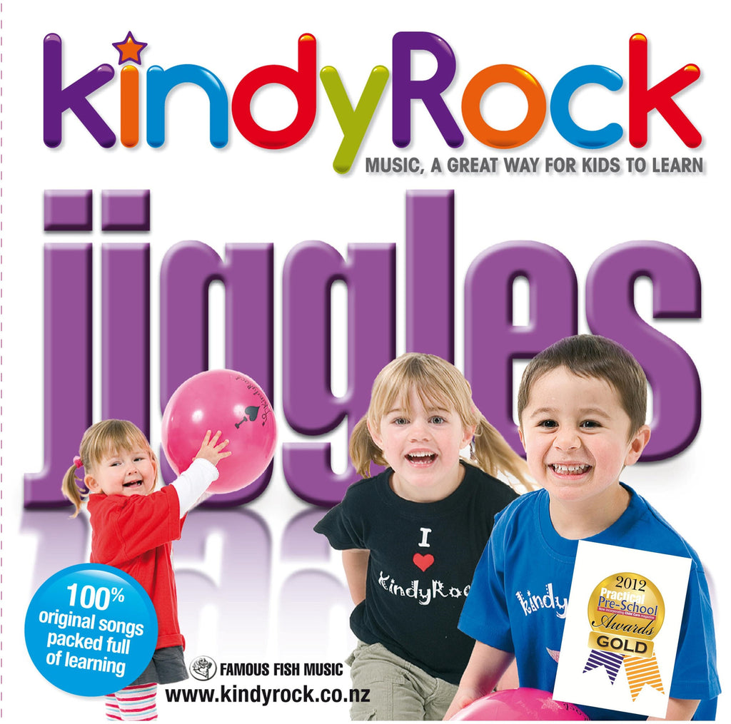 Digital Copy: KindyRock Jiggles CD