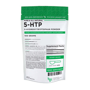 5-HTP (5-Hydroxytryptophan) Powder - Natural Pure Powder - Wholesale Prices - NexGen Performance