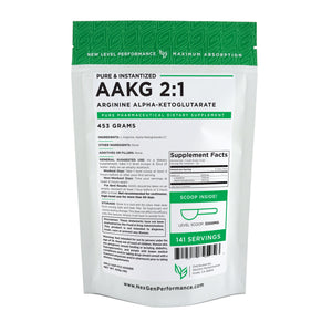 AAKG Powder -  Arginine Alpha Ketoglutarate - Pure Powder - Wholesale Prices - NexGen Performance