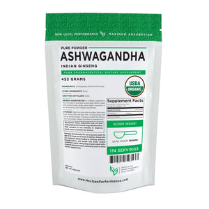 Organic Ashwagandha Root Powder - Indian Ginseng - Wholesale Prices - NexGen Performance