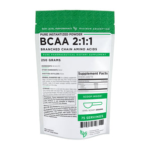 BCAA 5000 (2:1:1) (Branch Chain Amino Acids) Powder - Wholesale Prices - NexGen Performance