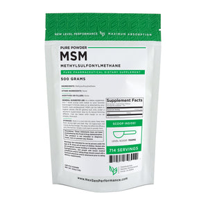 MSM Powder (Methylsulfonylmethane) - Pure Powder - Wholesale Prices - NexGen Performance