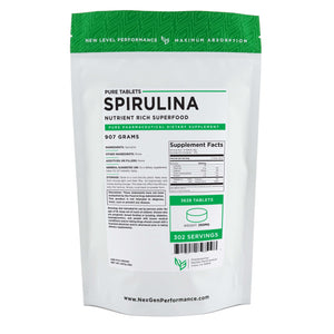 Spirulina Tablets - Natural Weight Loss - Nutrient Rich - Wholesale Prices - NexGen Performance