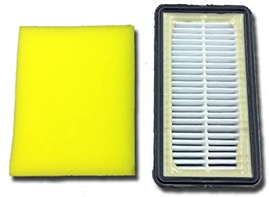 Bissell Vacuum Cleaner Filter 2 Pack for CleanView Uprights